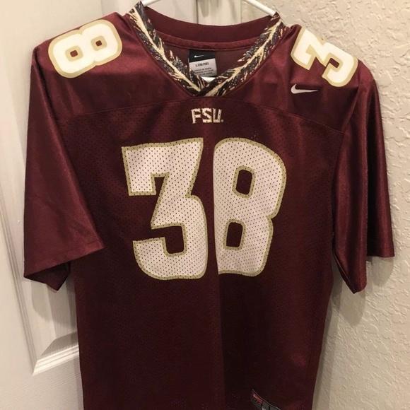 Nike Team Fsu Florida State Seminoles 38 Jersey  06a980cdb